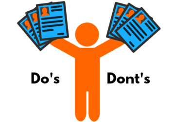 Resume Do's Dont's Tips for Freshers